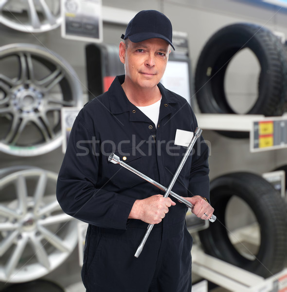 Car repair service worker. Stock photo © Kurhan
