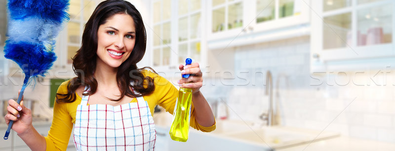 Housemaid. Stock photo © Kurhan