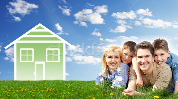 Family house. Stock photo © Kurhan