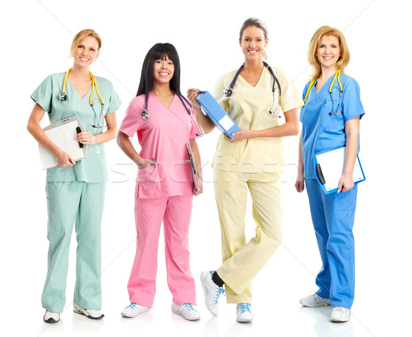 Doctors and nurses Stock photo © Kurhan