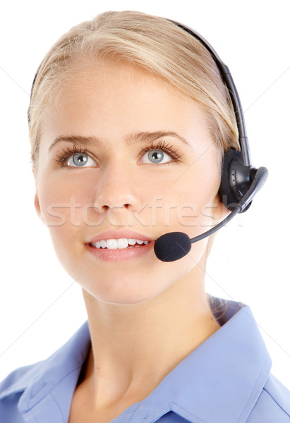 Stock photo: Call Center Operator