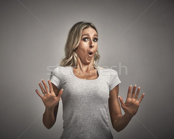 Woman avoidance. Stock photo © Kurhan