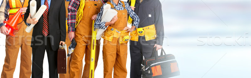 Construction workers team Stock photo © Kurhan
