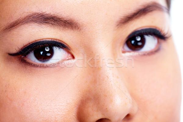 Eye. Stock photo © Kurhan