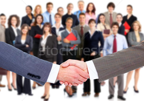 Business handshake. Stock photo © Kurhan