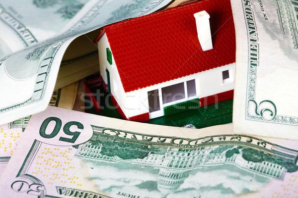 Family house and money. Stock photo © Kurhan