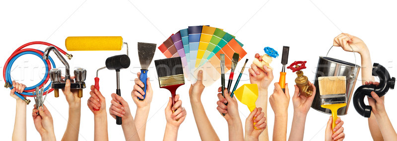 Set of diy tools. Stock photo © Kurhan