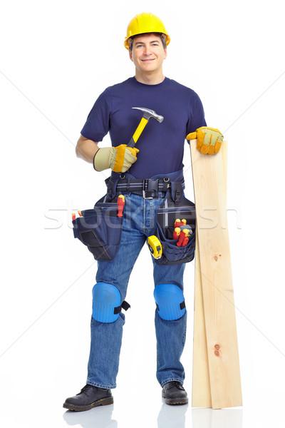 Handsome builder  Stock photo © Kurhan