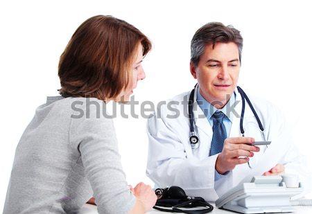 doctor and young couple Stock photo © Kurhan