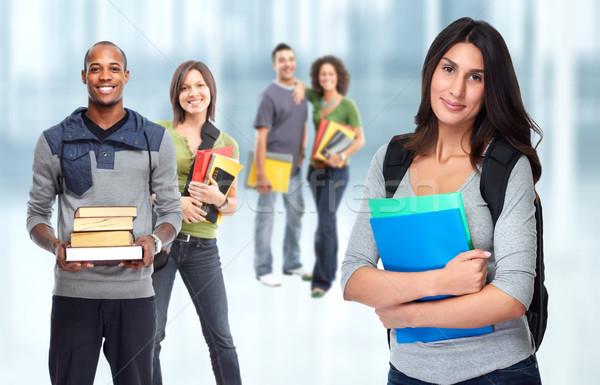 Students group. Stock photo © Kurhan