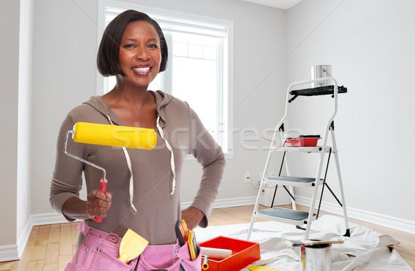 House renovation Stock photo © Kurhan