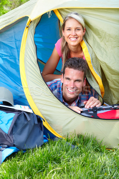 Camping. Stock photo © Kurhan