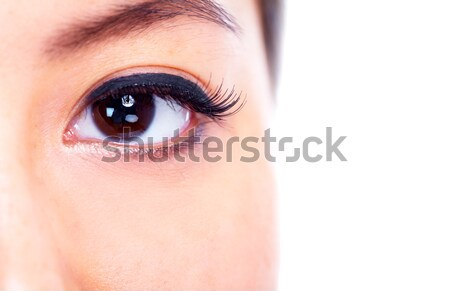 Eye. Stock photo © Kurhan
