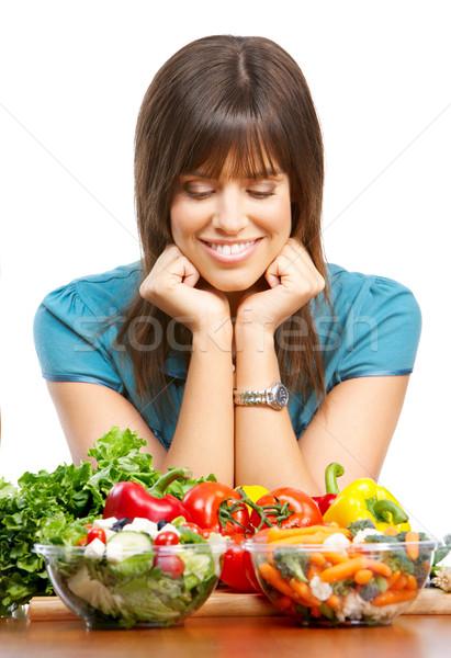 Vegetables and fruits Stock photo © Kurhan