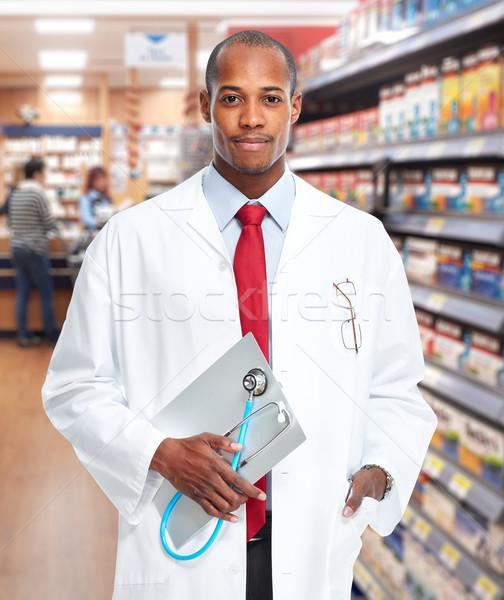 Doctor pharmacist man. Stock photo © Kurhan