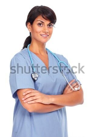 Asian medical doctor woman. Stock photo © Kurhan