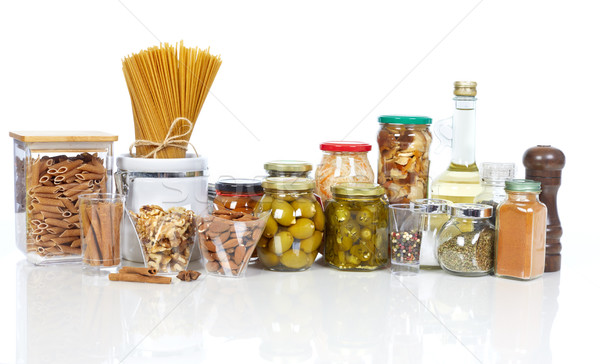 Pickles food and spices Stock photo © Kurhan