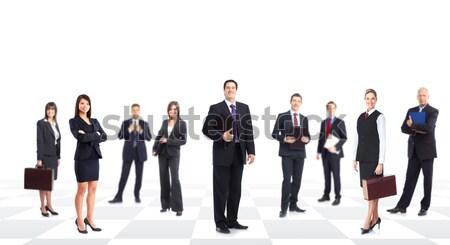 Stock fotó: üzletemberek · csapat · nagyobb · csoport · üzleti · csapat · üzlet · iroda