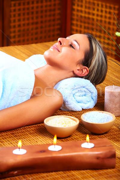 spa massage Stock photo © Kurhan