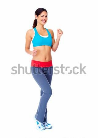 Stock photo: Beautiful healthy woman.