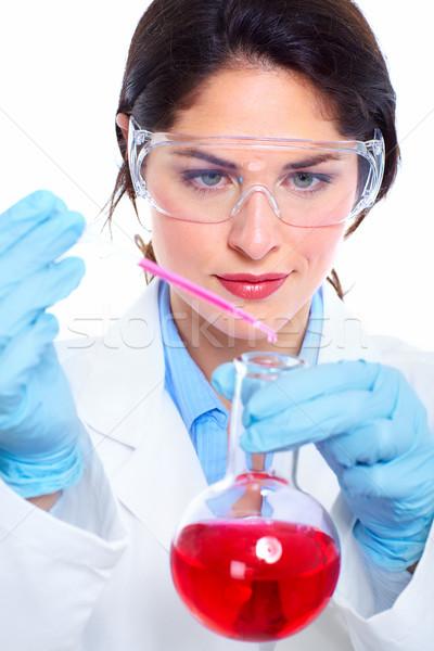 Laboratory research. Stock photo © Kurhan