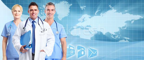 Gezondheidszorg groep medische artsen vrouw man Stockfoto © Kurhan