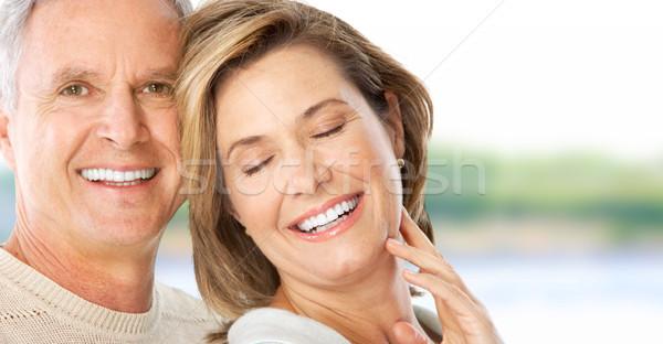 Сток-фото: пару · счастливым · пожилого · любви · Открытый