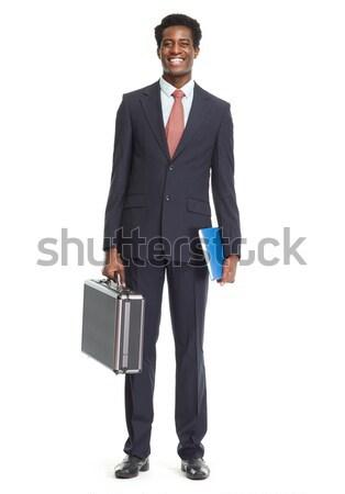 African-American businessman. Stock photo © Kurhan
