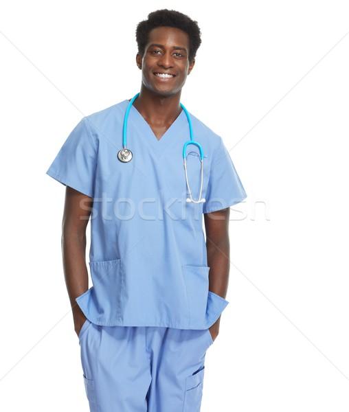 African American Doctor. Stock photo © Kurhan