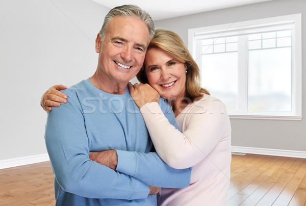 Senior couple at home. Stock photo © Kurhan