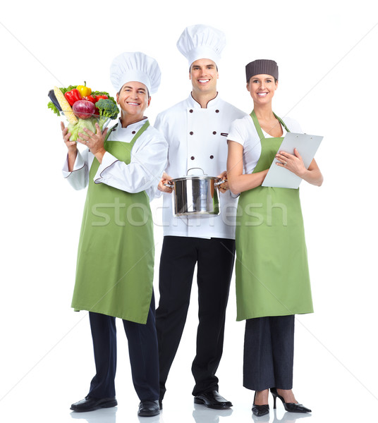 Chef baker group. Stock photo © Kurhan