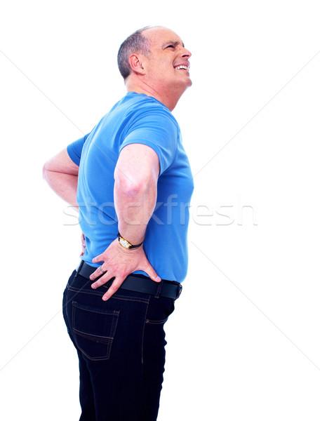 Back pain. Stock photo © Kurhan