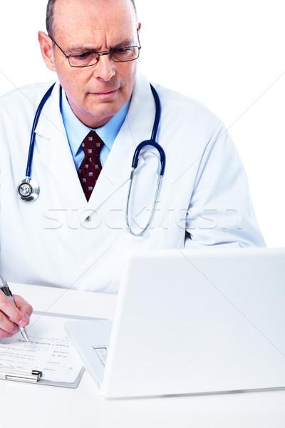 Medical doctor. Stock photo © Kurhan