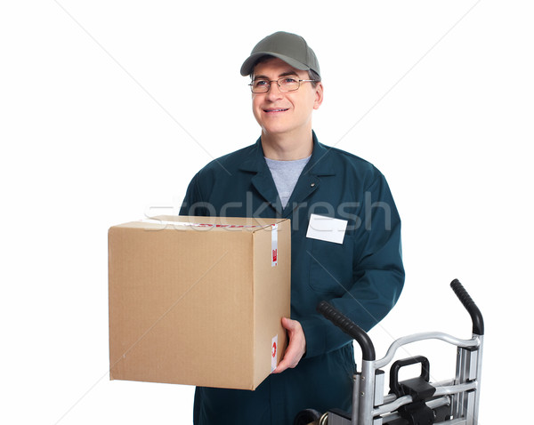 Delivery postman. Stock photo © Kurhan