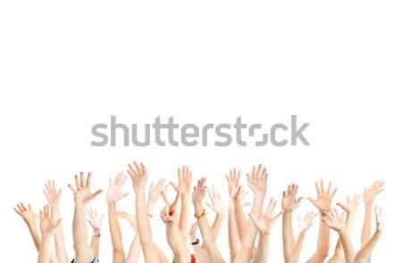 Hands up Stock photo © Kurhan