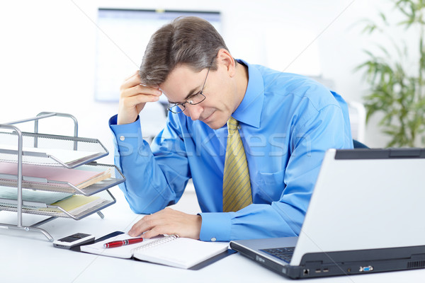 businessman  having stress Stock photo © Kurhan