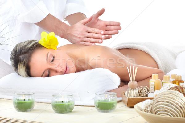 Stock photo: spa massage