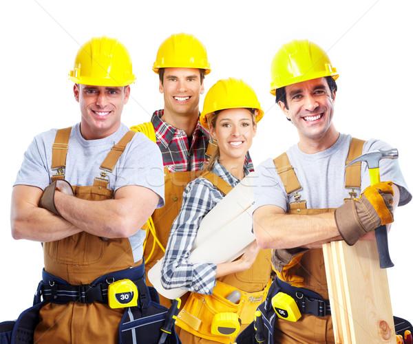 contractors workers people Stock photo © Kurhan