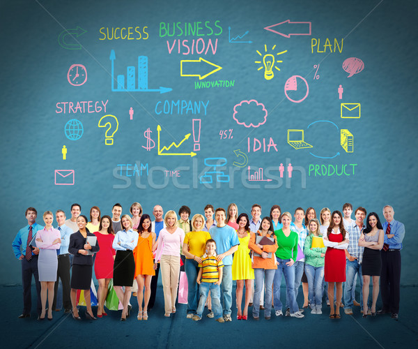 People group. Stock photo © Kurhan