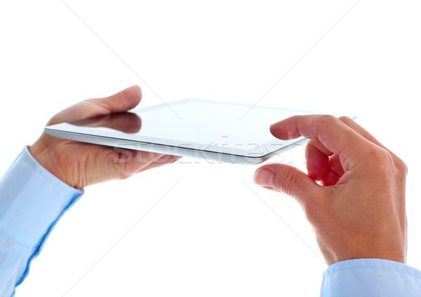 Stock photo: Tablet computer.