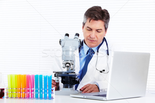 Scientific laboratory. Stock photo © Kurhan