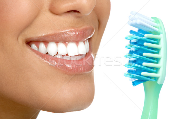 Healthy teeth Stock photo © Kurhan