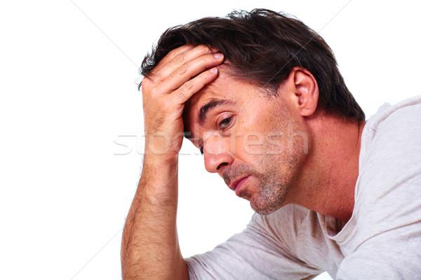 Man having stress. Stock photo © Kurhan