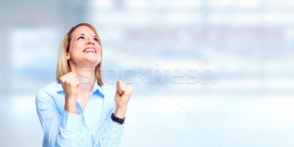 happy girl Stock photo © Kurhan