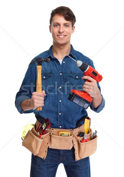 Construction worker. Stock photo © Kurhan