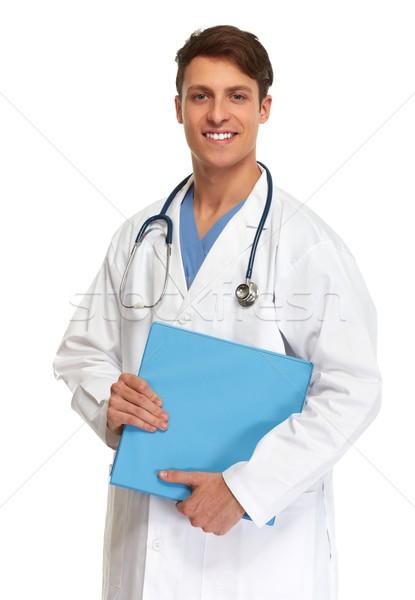 Doctor pharmacist. Stock photo © Kurhan