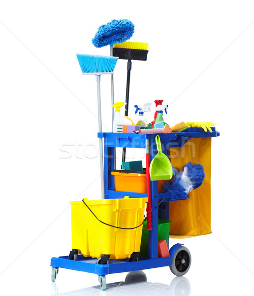 Janitor cart. Stock photo © Kurhan