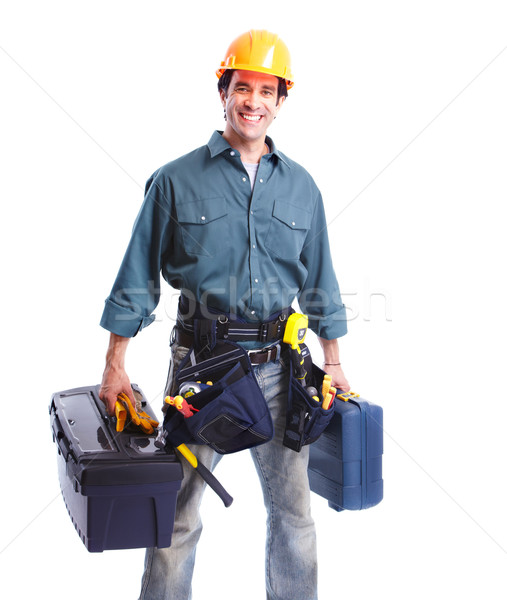 Plumber worker. Stock photo © Kurhan