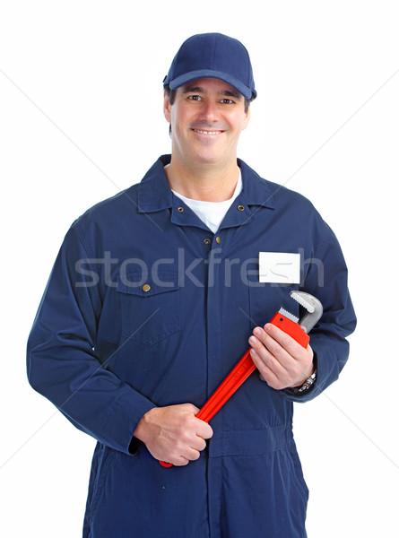 plumber worker Stock photo © Kurhan