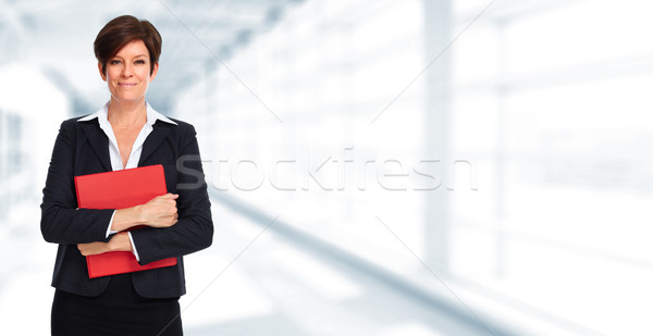 Mature business woman. Stock photo © Kurhan
